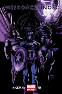 """Avengers. Nieskończoność"" - okładka"