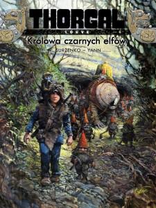 Thorgal: Louve. Królowa czarnych elfów - okładka