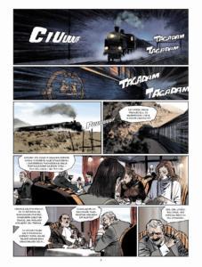 Morderstwo w Orient Expressie plansza 1