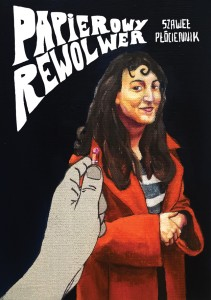 """""""Papierowy rewolwer"""" - okładka"""