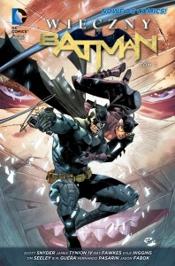 """""""Wieczny Batman"""", tom 2 - okładka"""