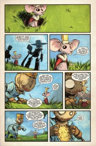 """The Marvelous Land of Oz"" - plansza"