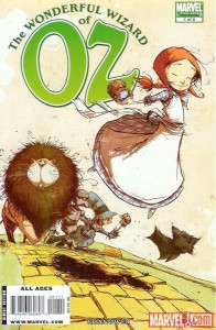 """The Wonderful Wizard of Oz"" - okładka zeszytu #1"