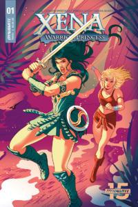 Xena: Warrior Princess (okładka pierwszego zeszytu)